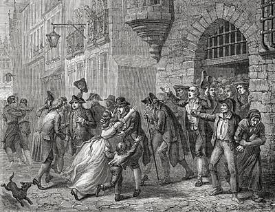 The Moderates Are Released, 1794 Poster by Vintage Design Pics