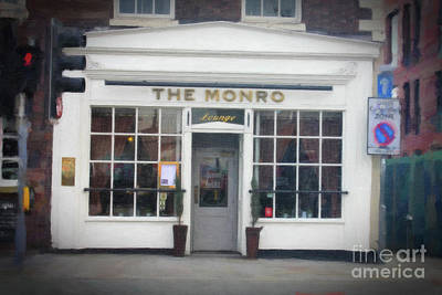 The Monro Lounge Liverpool Poster by Donna Munro