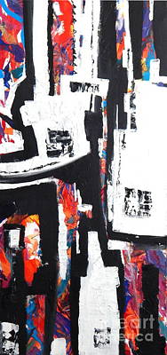 The Neigbhorhood Poster by Expressionistartstudio Priscilla-Batzell
