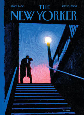 The New Yorker Cover - September 15th, 2008 Poster by Conde Nast