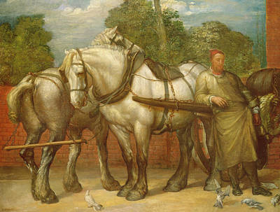 The Noonday Rest  Poster by George Frederick Watts