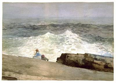 The Northeaster Poster by Winslow Homer