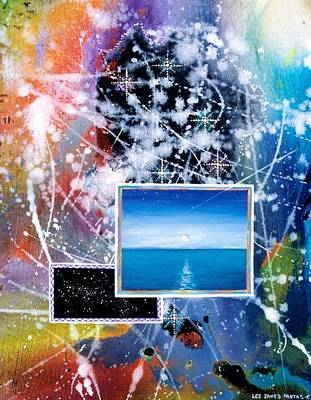 The Ocean Dawn Poster by Lee Pantas
