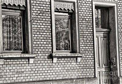 The Old Man In The Window Poster by Jeff Breiman