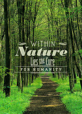The Path For Humanity Poster by Bekare Creative
