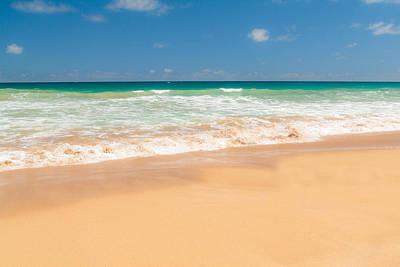 The Perfect Beach - Kapaa Kauai Hawaii Poster by Brian Harig