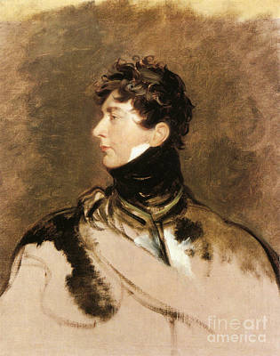 The Prince Regent Poster by Celestial Images