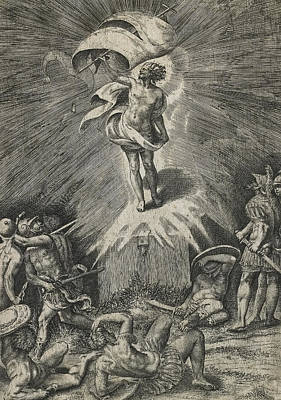 The Resurrection Poster by Giulio Bonasone