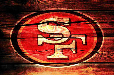 The San Francisco 49ers 3a Poster by Brian Reaves