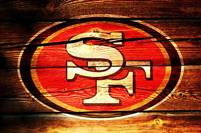 The San Francisco 49ers 3c Poster by Brian Reaves
