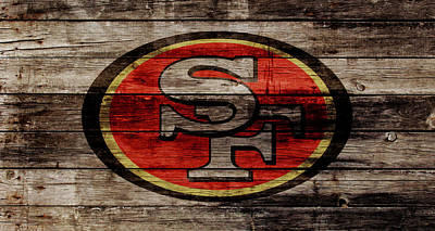 The San Francisco 49ers W1 Poster by Brian Reaves