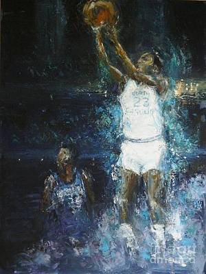 The Shot Poster by Dan Campbell