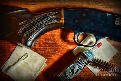 The Shotgun Poster by Paul Ward