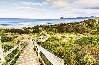 The Spit Lookout Poster by Jorgo Photography - Wall Art Gallery