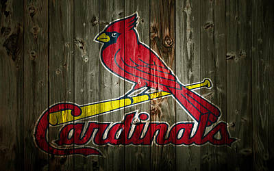 The St Louis Cardinals 2a Poster by Brian Reaves