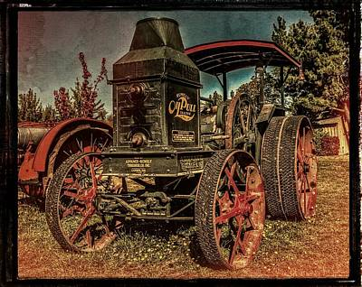 The Steam Tractor Poster by Thom Zehrfeld