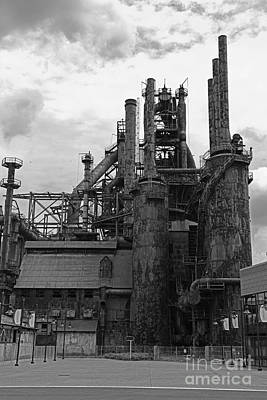 The Steel Stacks 1 Poster by Paul Ward