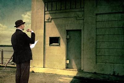 The Surveyor Poster by Mel Brackstone