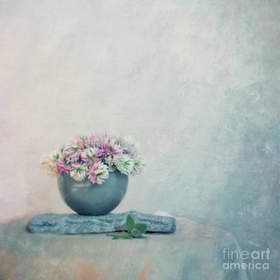 The Sweet Scent Of Clover Poster by Priska Wettstein