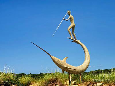The Swordfish Harpooner Poster by Mark Miller