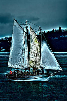 The Tall Ship Lavengro Poster by David Patterson