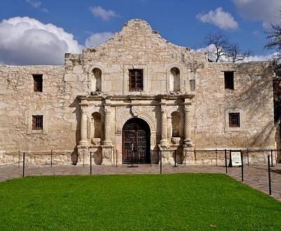 The Texas Alamo Poster by Kristina Deane