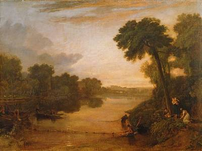 The Thames Near Windsor Poster by Joseph Mallord William Turner