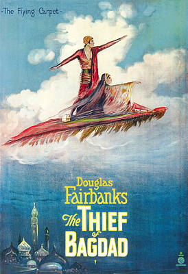 The Thief Of Bagdad,  Douglas Poster by Everett