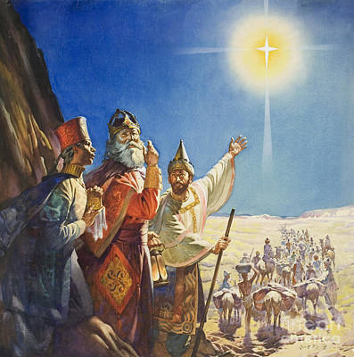 The Three Wise Men  Poster by James Edwin McConnell