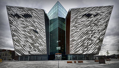 The Titanic Belfast Poster by Chris Cardwell