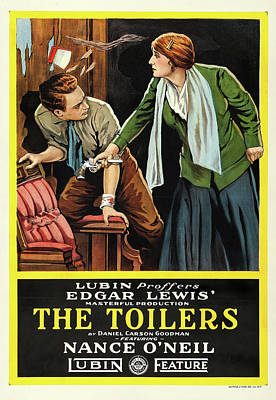 The Toilers 1916 Poster by Mountain Dreams