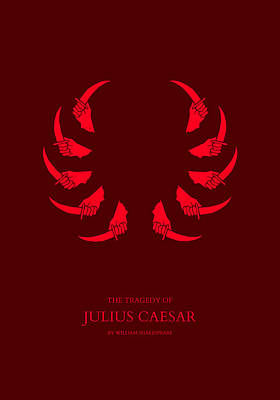 The Tragedy Of Julius Caesar Poster by Nicholas Ely