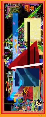 The Tzaddik Lives On Emunah 18 Poster by David Baruch Wolk