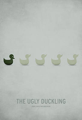 The Ugly Duckling Poster by Christian Jackson