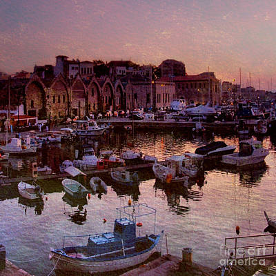 The Venetian Harbour Poster by Varinia Blyth