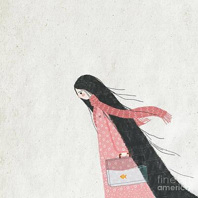 The Wanderer Poster by Carolina Parada