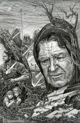 The War Poster by Irina Sumanenkova