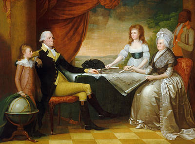 The Washington Family Poster by Edward Savage