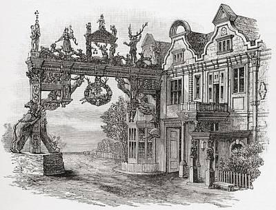 The White Hart Inn, Scole, Norfolk Poster by Vintage Design Pics