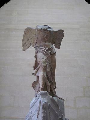 The Winged Victory Of Samothrace Number 1 Poster by David Lee Guss