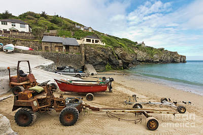 The Workhorses Of St Agnes Poster by Terri Waters
