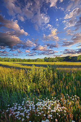The World Is Quiet Here Poster by Phil Koch