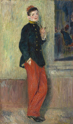 The Young Soldier Poster by Auguste Renoir