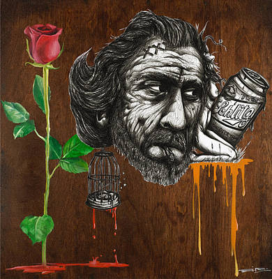 There Is Nothing To Mourn About Death Anymore Than There Is To Mourn About The Growing Of A Flower Poster by Tai Taeoalii