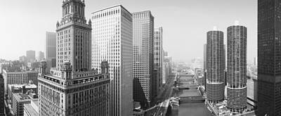 This Is A View Looking Over The Chicago Poster by Panoramic Images