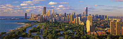 This Is Lincoln Park With Diversey Poster by Panoramic Images