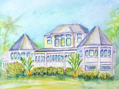 Thistle Lodge Casa Ybel Resort  Poster by Carlin Blahnik