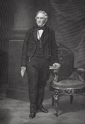 Thomas Hart Benton 1782 To 1858 Poster by Vintage Design Pics