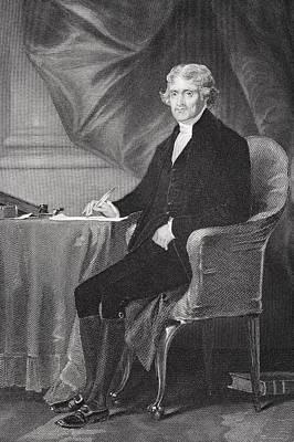 Thomas Jefferson 1743-1826. Third Poster by Vintage Design Pics