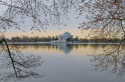 Thomas Jefferson Memorial In Spring Poster by Bill Cannon